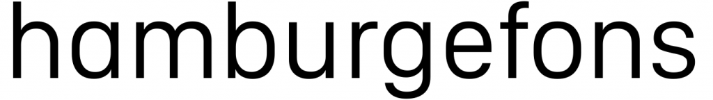 "The word ""hamburgefons"" in Apple's San Francisco font, with an alternate humanist a."