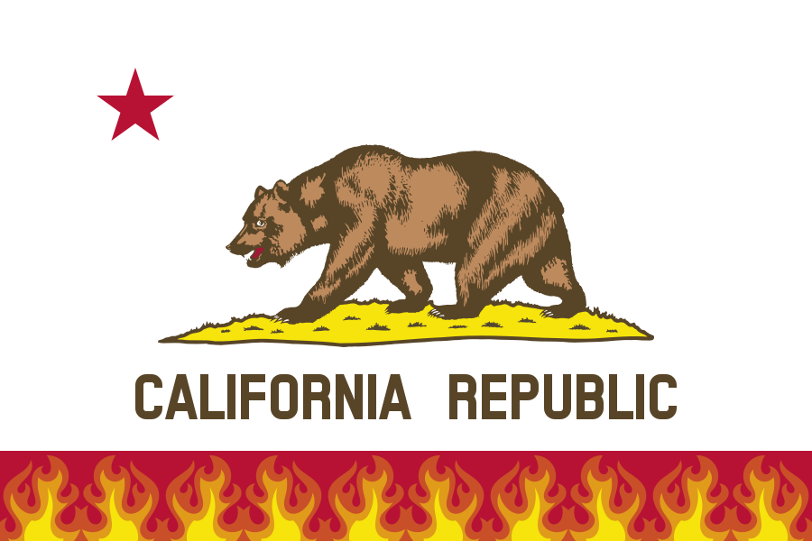 drought-flag-of-california