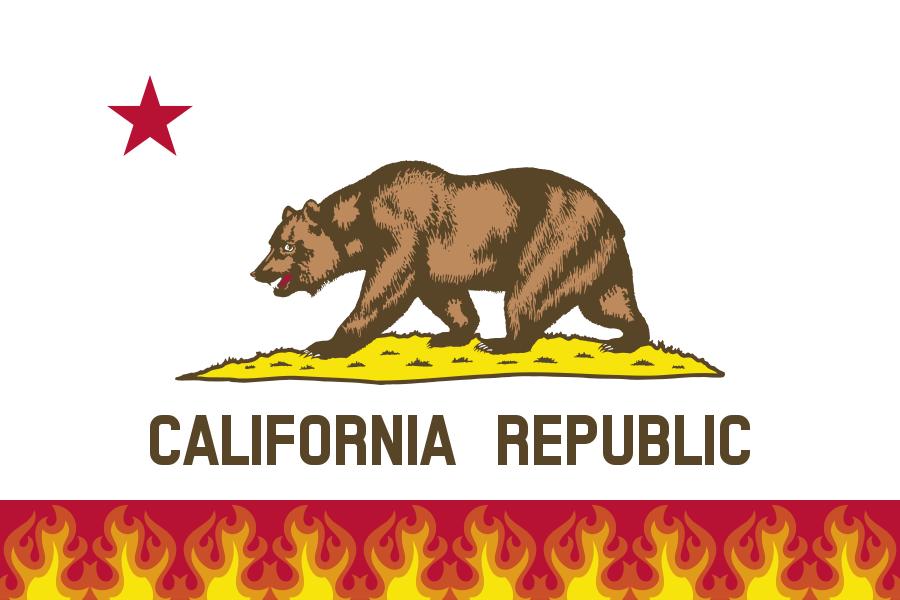 drought-flag-of-california